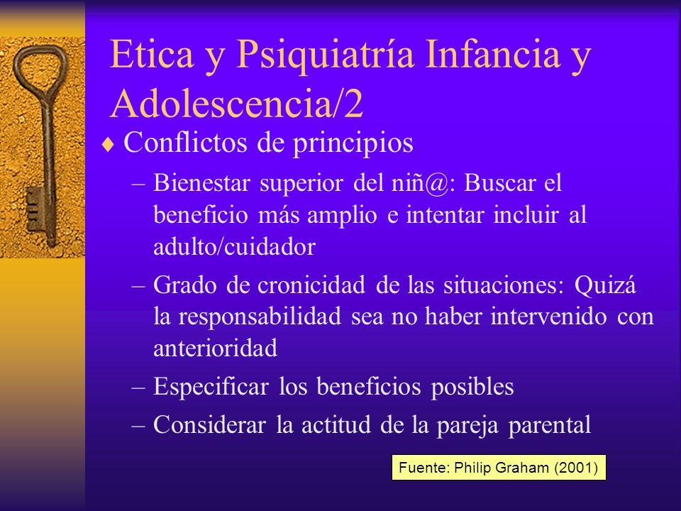 Etica y Psiquiatría Infancia y Adolescencia/2