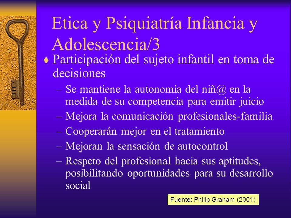 Etica y Psiquiatría Infancia y Adolescencia/3