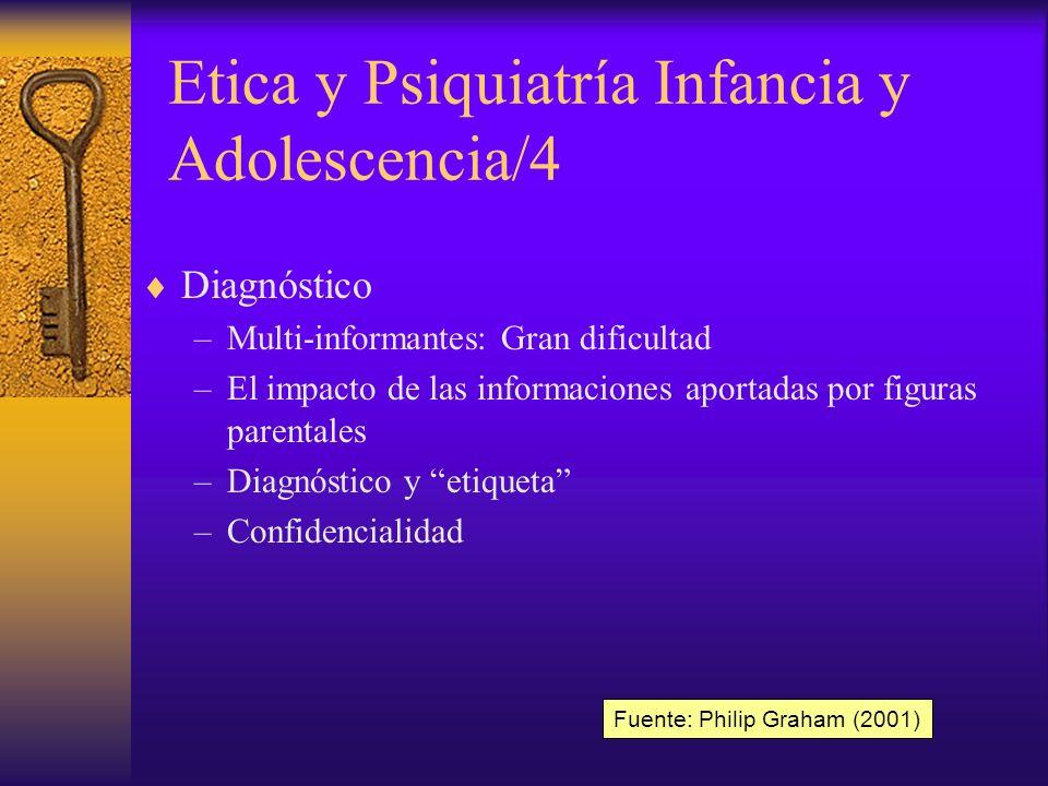 Etica y Psiquiatría Infancia y Adolescencia/4