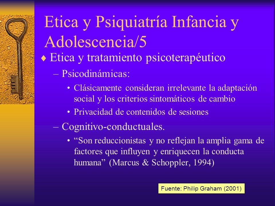 Etica y Psiquiatría Infancia y Adolescencia/5