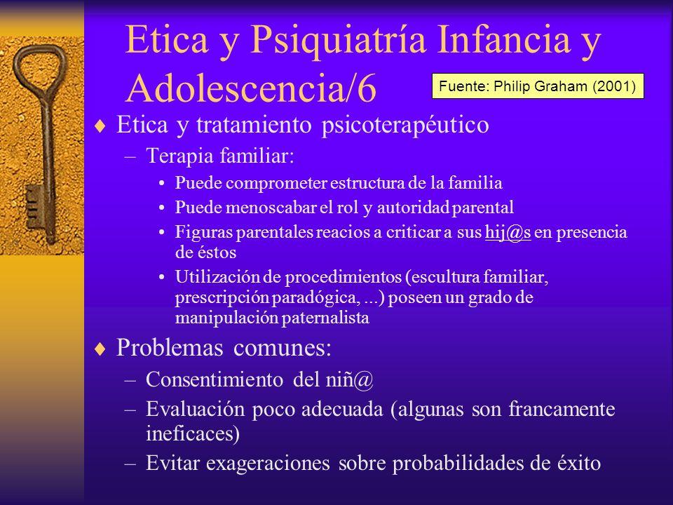 Etica y Psiquiatría Infancia y Adolescencia/6