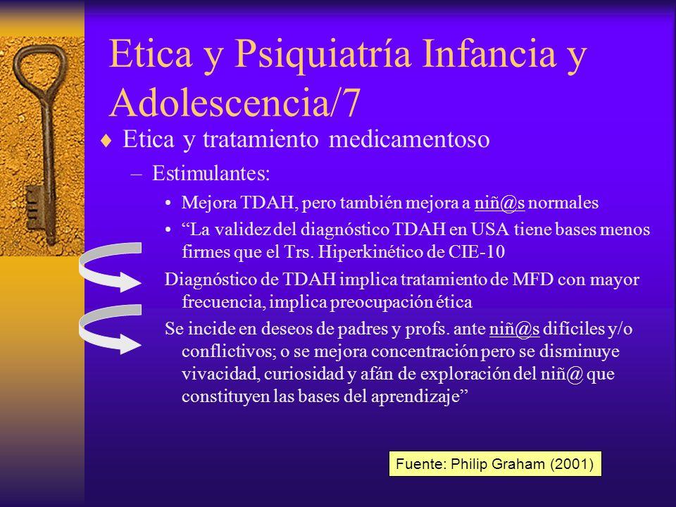 Etica y Psiquiatría Infancia y Adolescencia/7