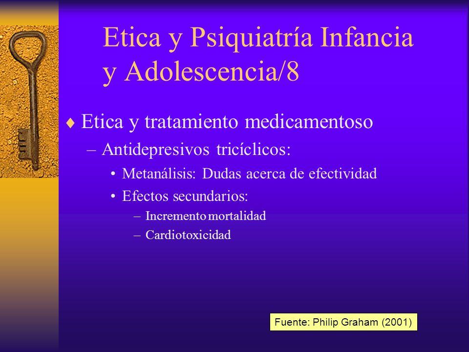 Etica y Psiquiatría Infancia y Adolescencia/8