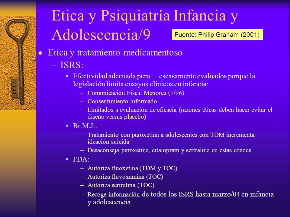 Etica y Psiquiatría Infancia y Adolescencia/9
