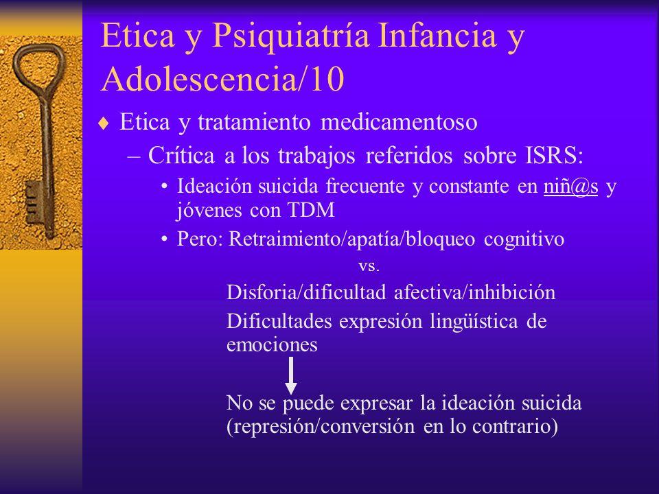Etica y Psiquiatría Infancia y Adolescencia/10
