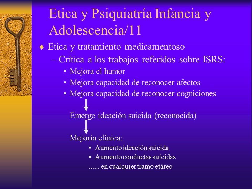 Etica y Psiquiatría Infancia y Adolescencia/11