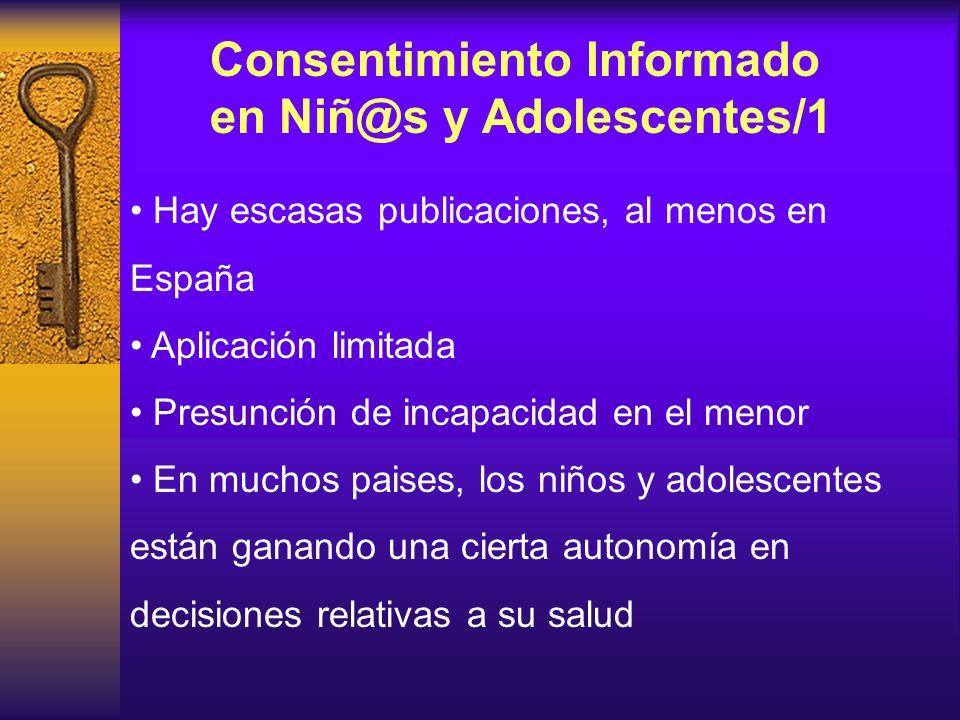 Consentimiento Informado en Niñ@s y Adolescentes/1