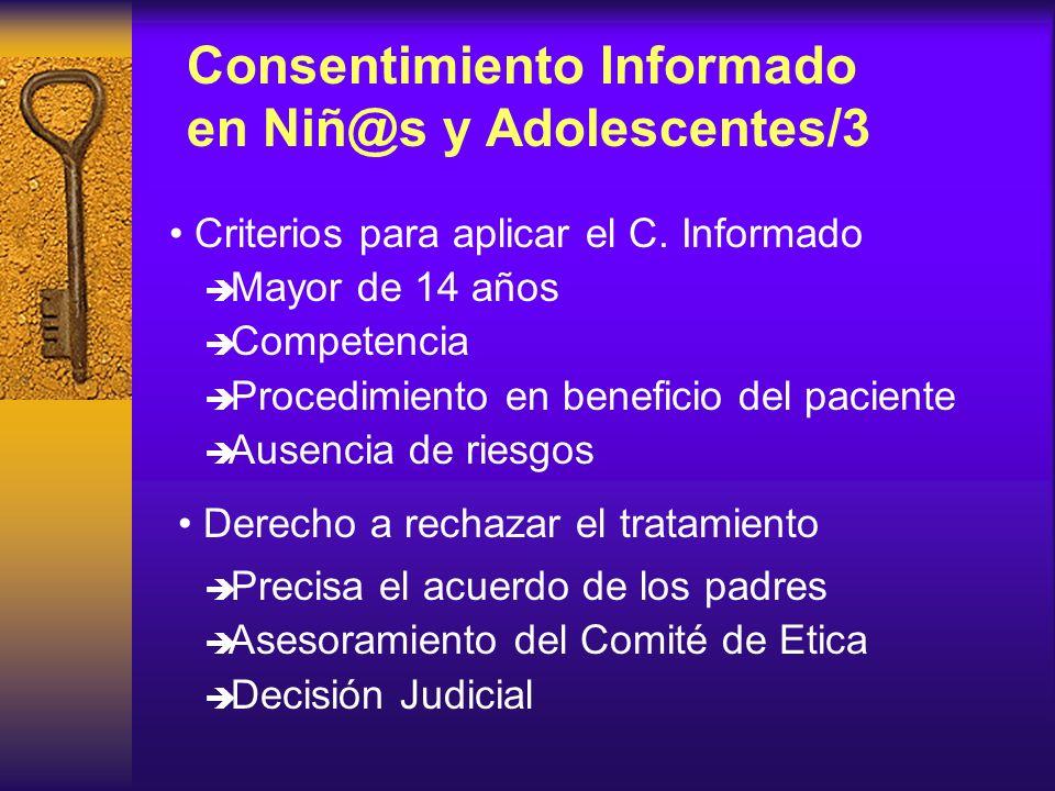 Consentimiento Informado en Niñ@s y Adolescentes/3