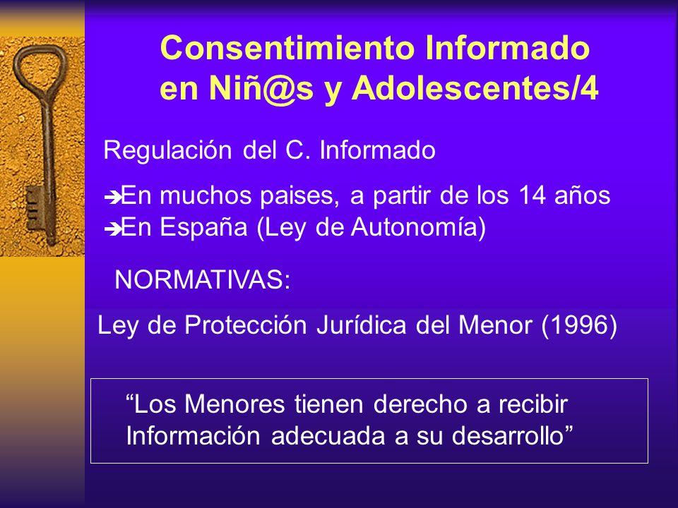 Consentimiento Informado en Niñ@s y Adolescentes/4
