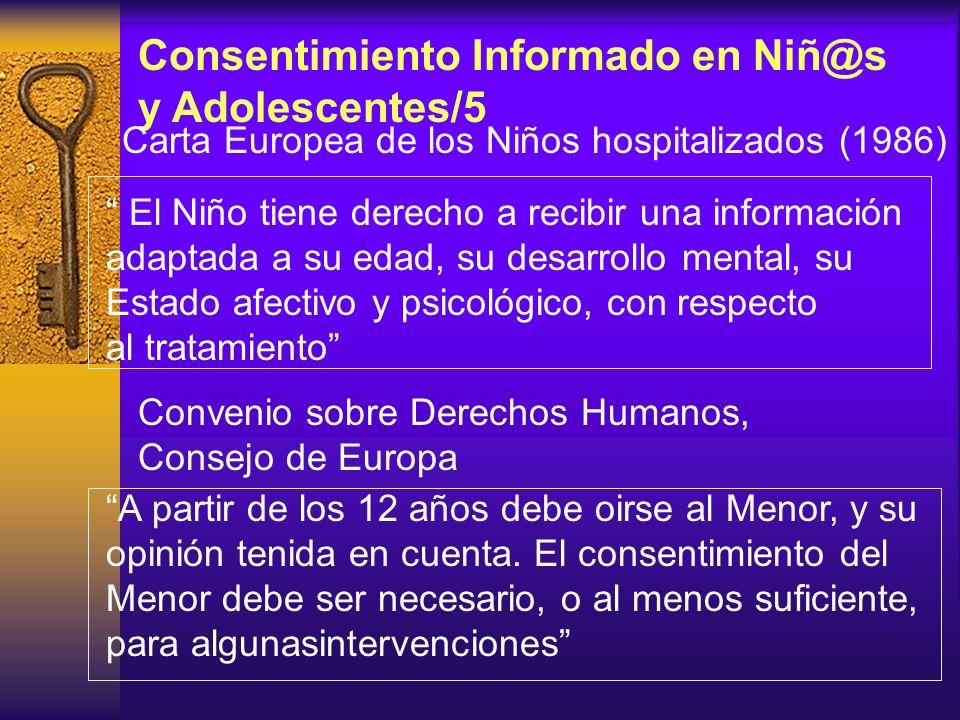 Consentimiento Informado en Niñ@s y Adolescentes/5