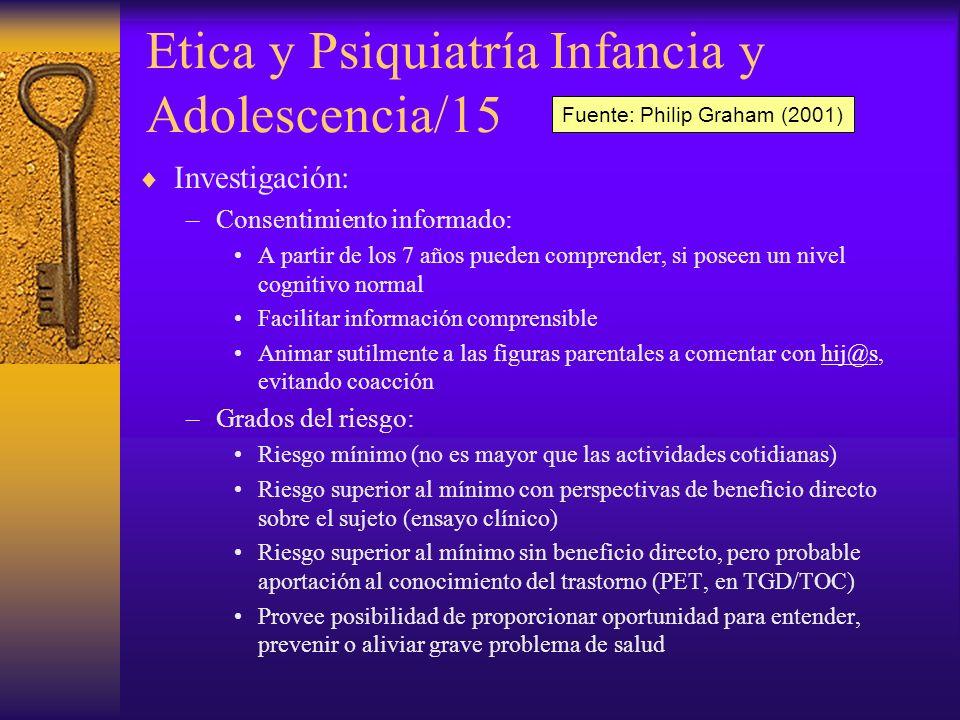 Etica y Psiquiatría Infancia y Adolescencia/15