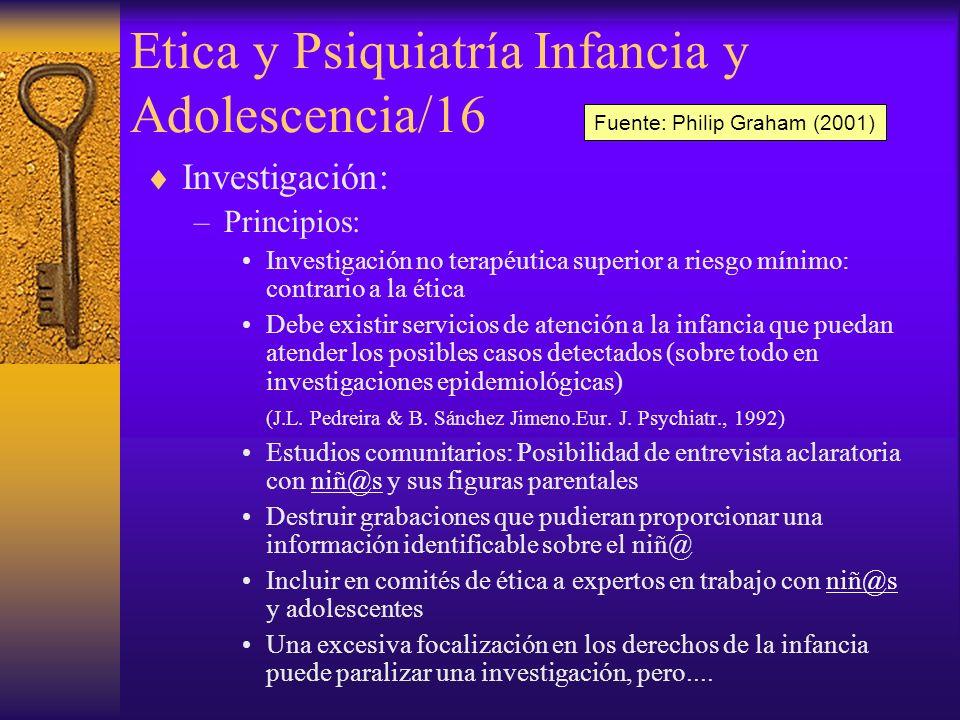 Etica y Psiquiatría Infancia y Adolescencia/16