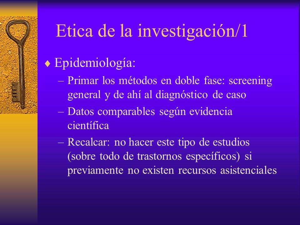 Etica de la investigación/1