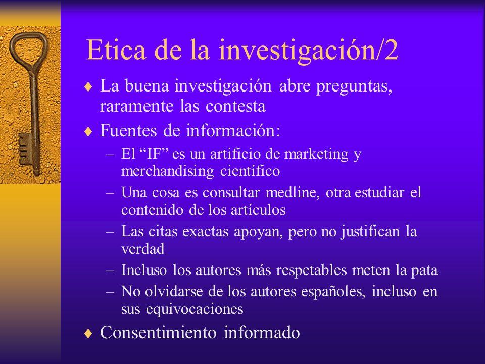 Etica de la investigación/2