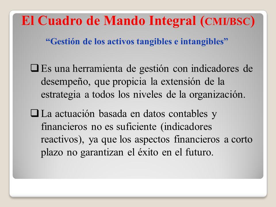 El Cuadro de Mando Integral (CMI/BSC)