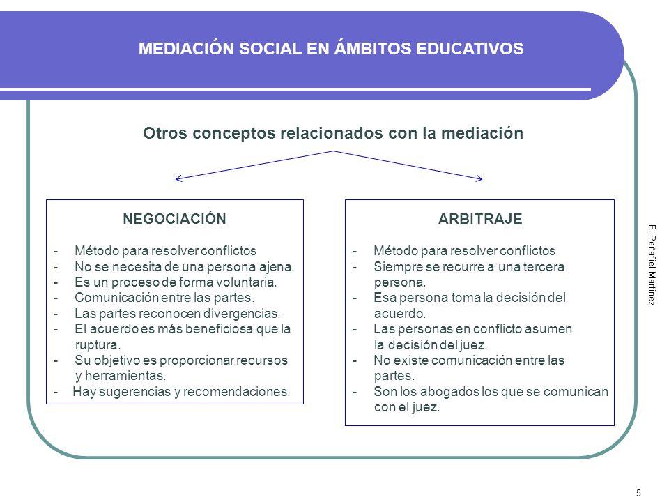 MEDIACIÓN SOCIAL EN ÁMBITOS EDUCATIVOS