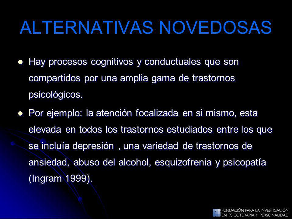 ALTERNATIVAS NOVEDOSAS