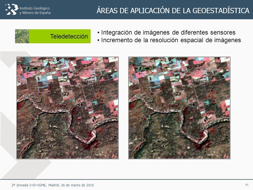 ÁREAS DE APLICACIÓN DE LA GEOESTADÍSTICA