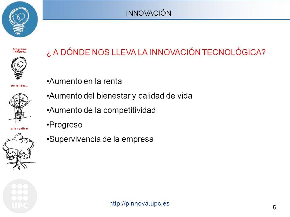 ¿ A DÓNDE NOS LLEVA LA INNOVACIÓN TECNOLÓGICA