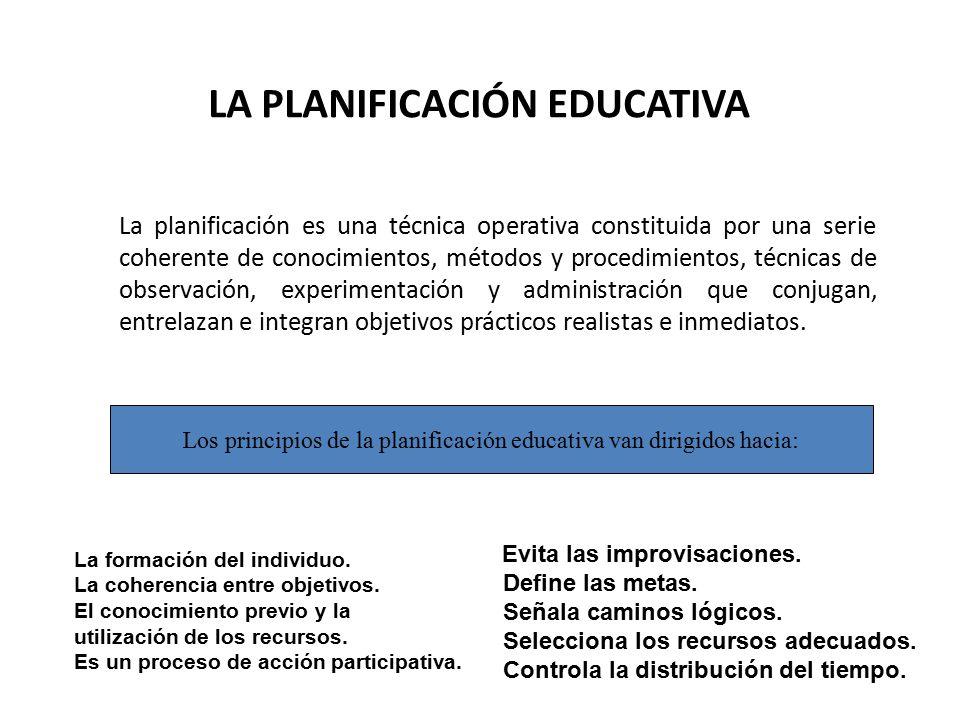 Ministerio de educaci n planificaci n educativa for La accion educativa en el exterior