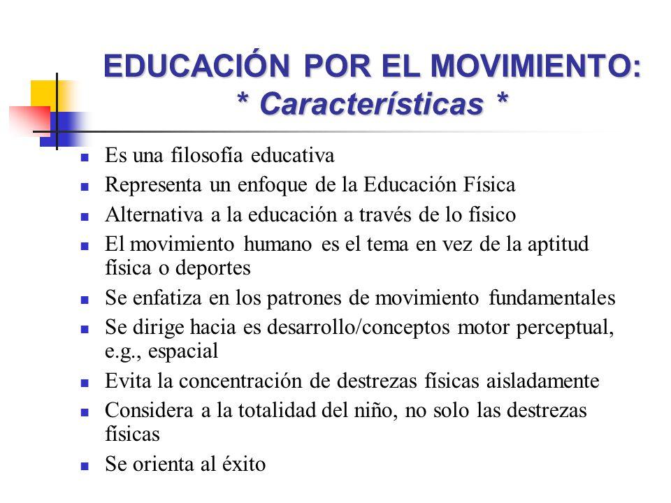 Educaci n por el movimiento y gimnasia elemental ppt for La accion educativa en el exterior