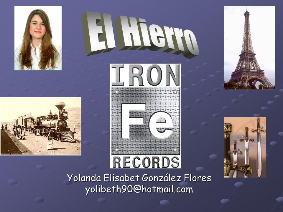 Yolanda Elisabet González Flores yolibeth90@hotmail.com