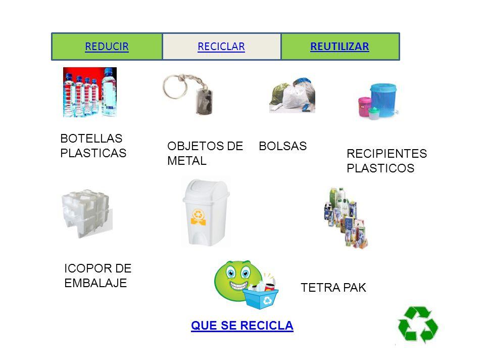 Recicla reduce y reutiliza mejora tu calidad de vida for Reciclar objetos