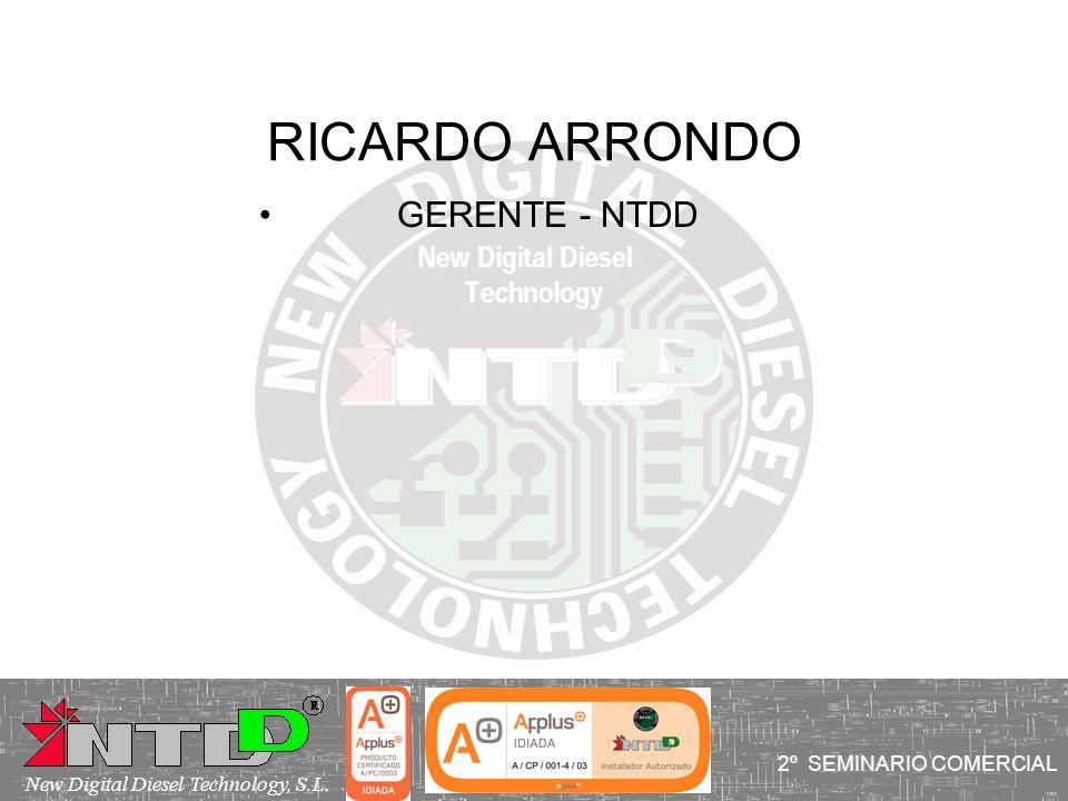 RICARDO ARRONDO GERENTE - NTDD 2º SEMINARIO COMERCIAL