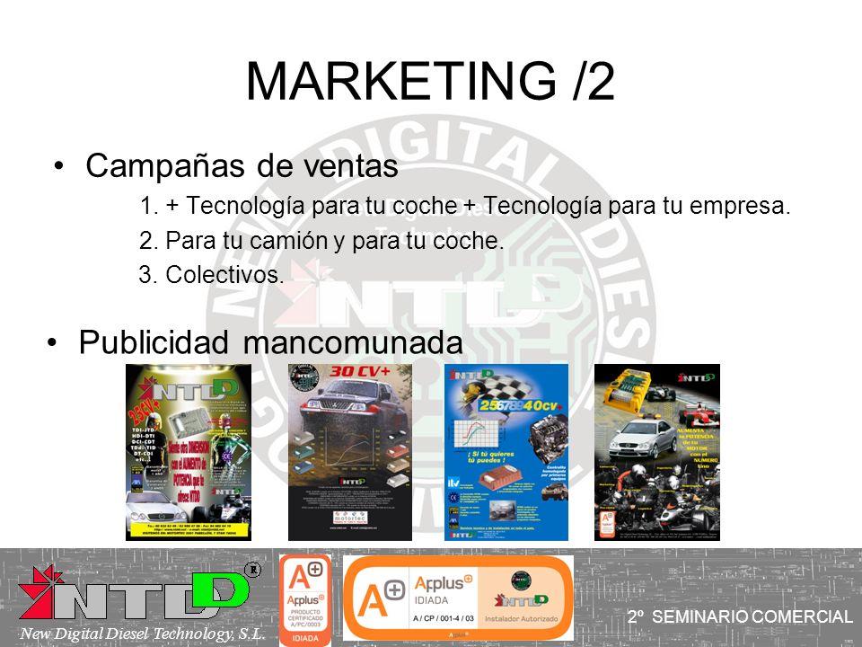 MARKETING /2 Campañas de ventas Publicidad mancomunada
