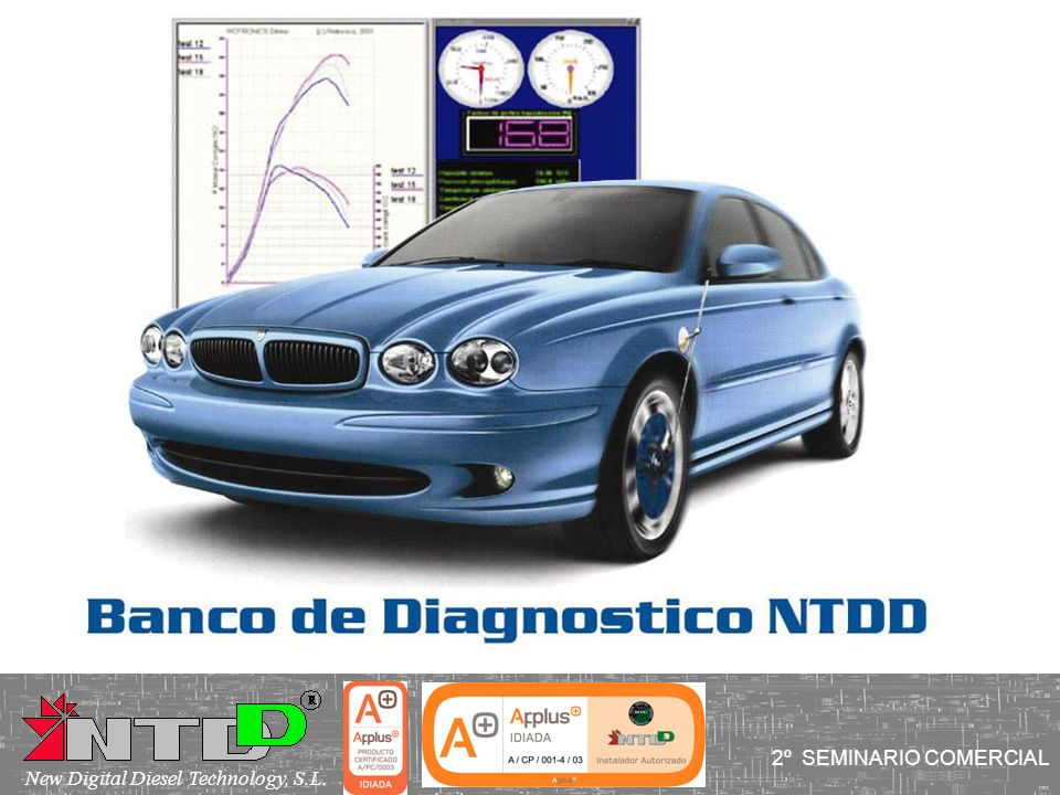 2º SEMINARIO COMERCIAL New Digital Diesel Technology, S.L.