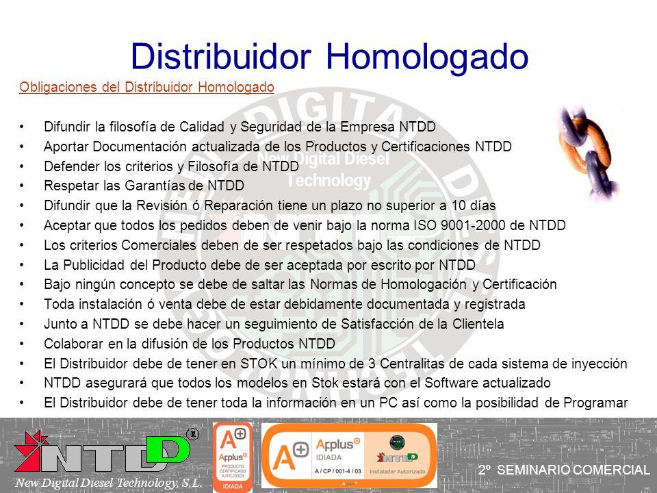 Distribuidor Homologado