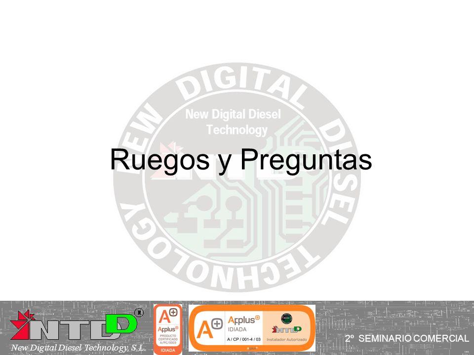 Ruegos y Preguntas I SEMINARIO COMERCIAL 2º SEMINARIO COMERCIAL
