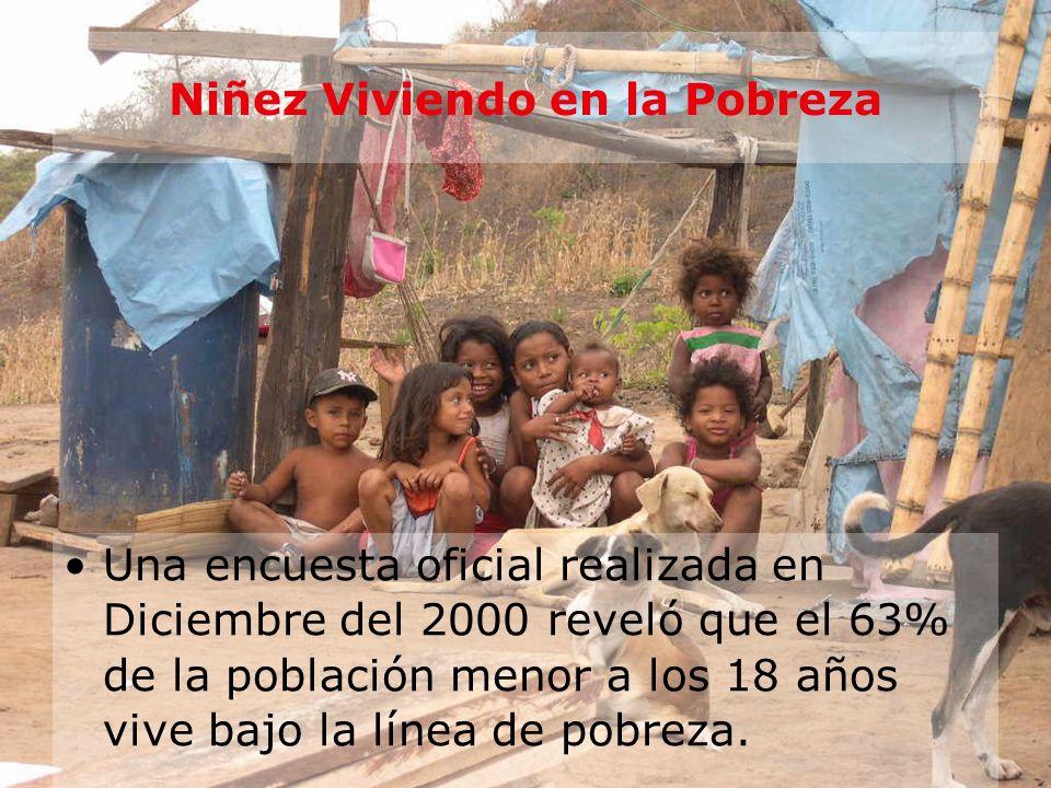 Niñez Viviendo en la Pobreza