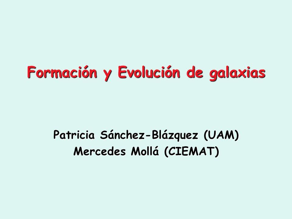 Formación y Evolución de galaxias