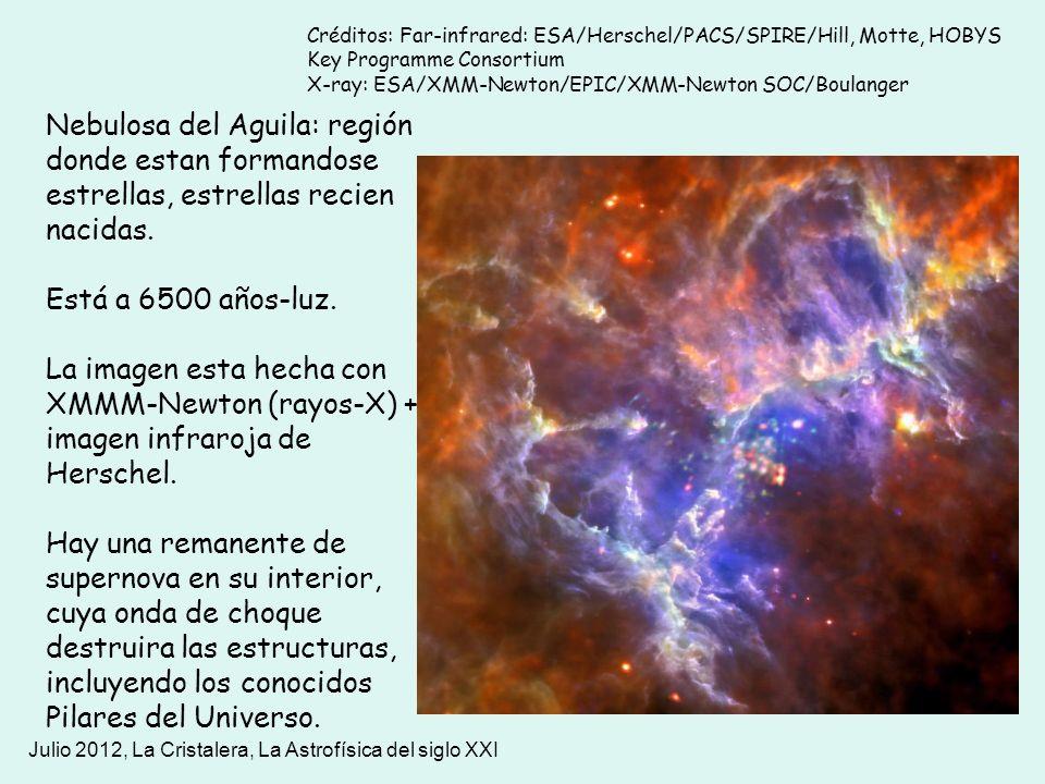 Créditos: Far-infrared: ESA/Herschel/PACS/SPIRE/Hill, Motte, HOBYS Key Programme Consortium