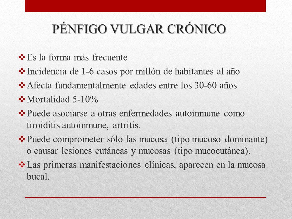PÉNFIGO VULGAR CRÓNICO