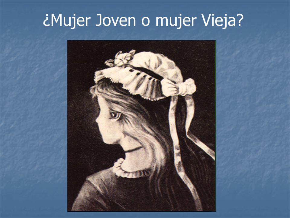 ¿Mujer Joven o mujer Vieja