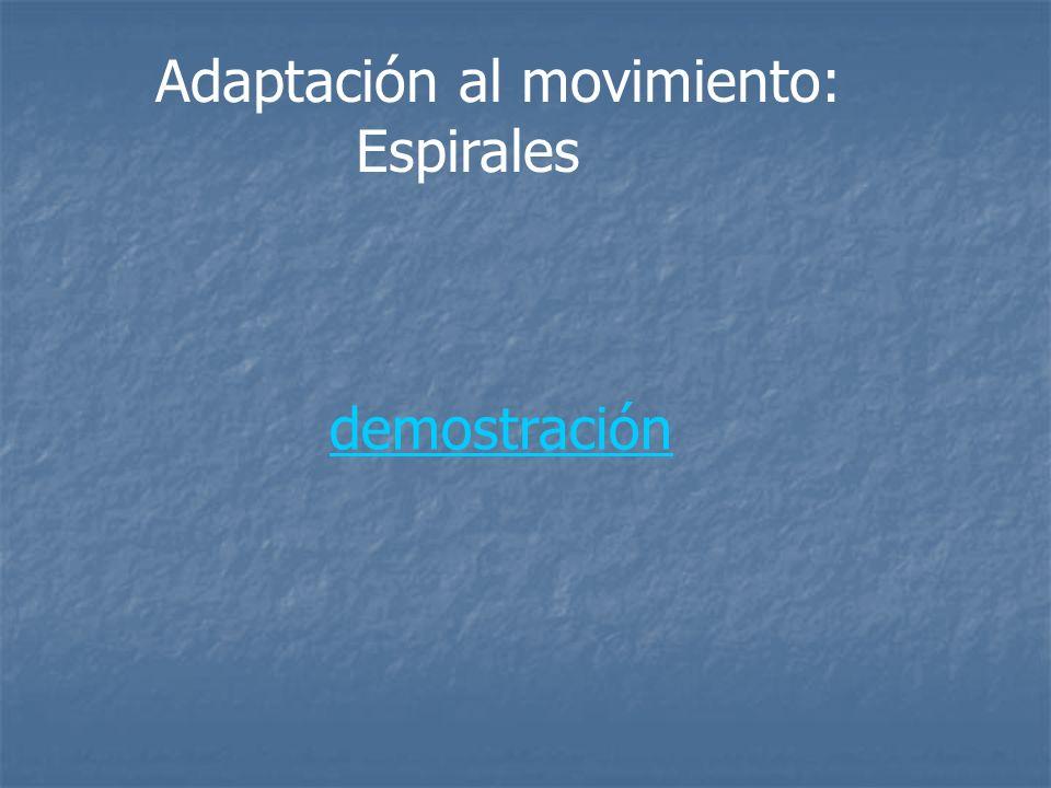Adaptación al movimiento: