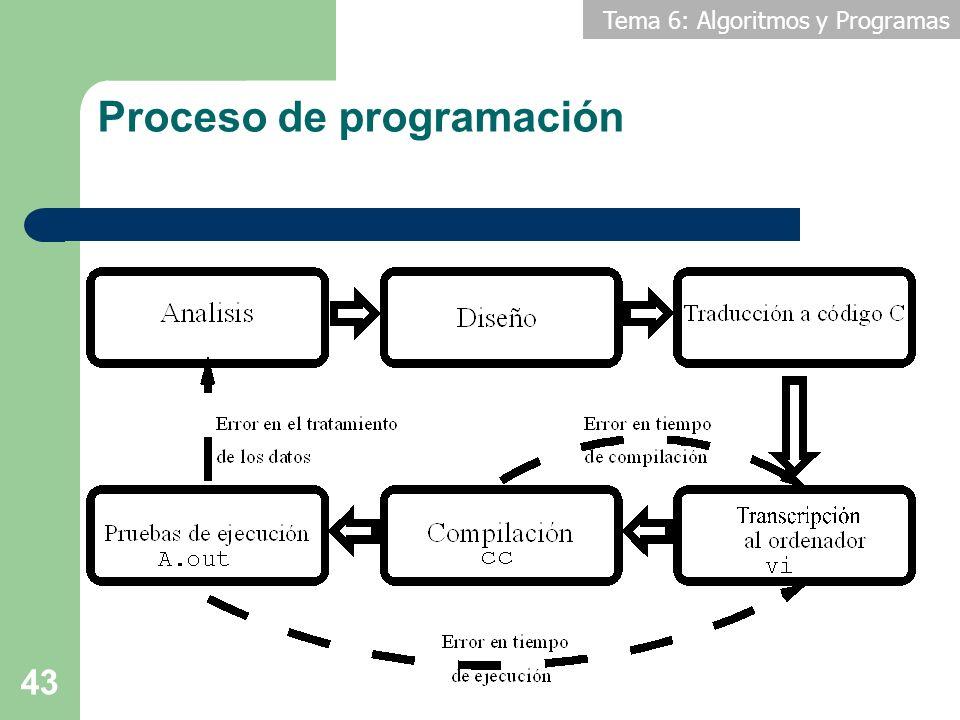 Proceso de programación