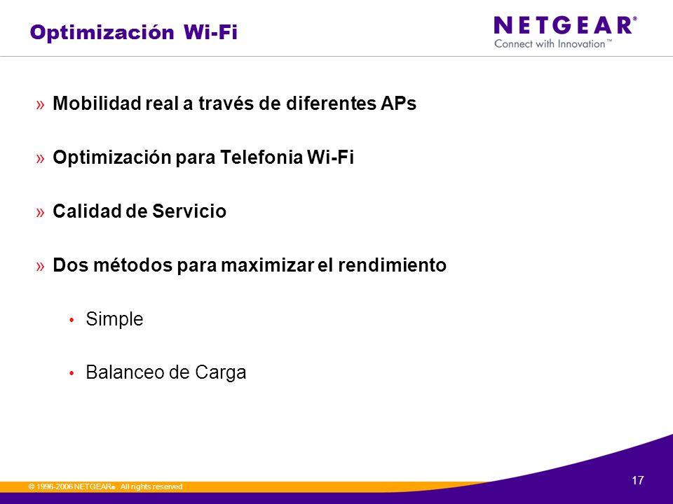 Optimización Wi-Fi Mobilidad real a través de diferentes APs