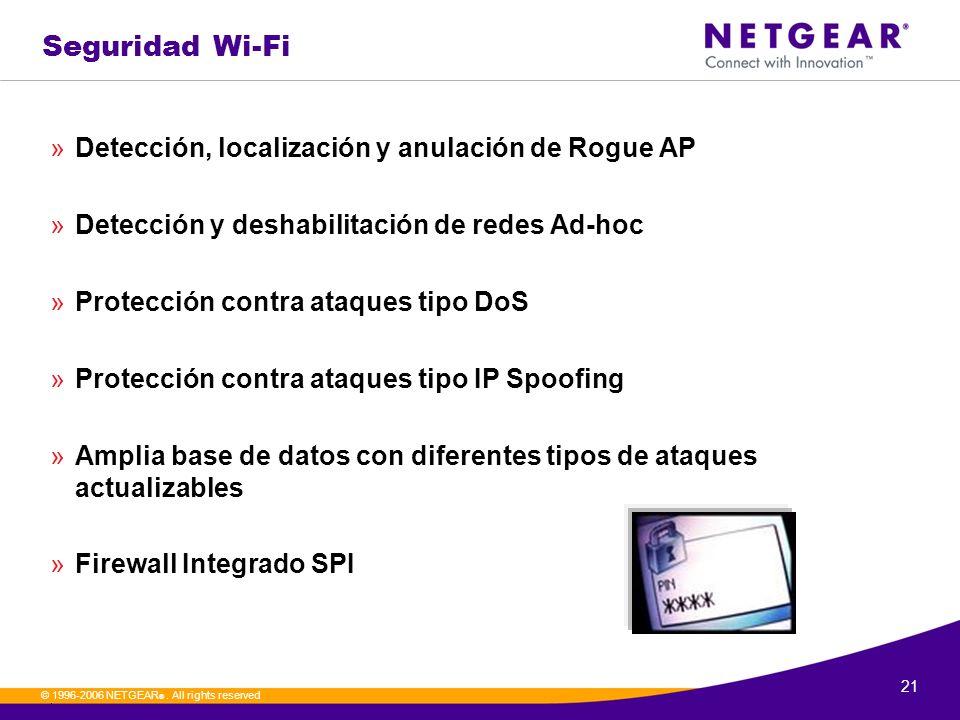 Seguridad Wi-Fi Detección, localización y anulación de Rogue AP