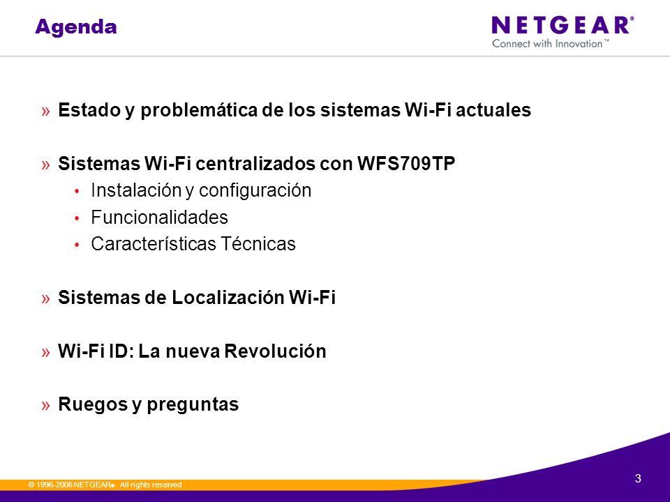 Agenda Estado y problemática de los sistemas Wi-Fi actuales
