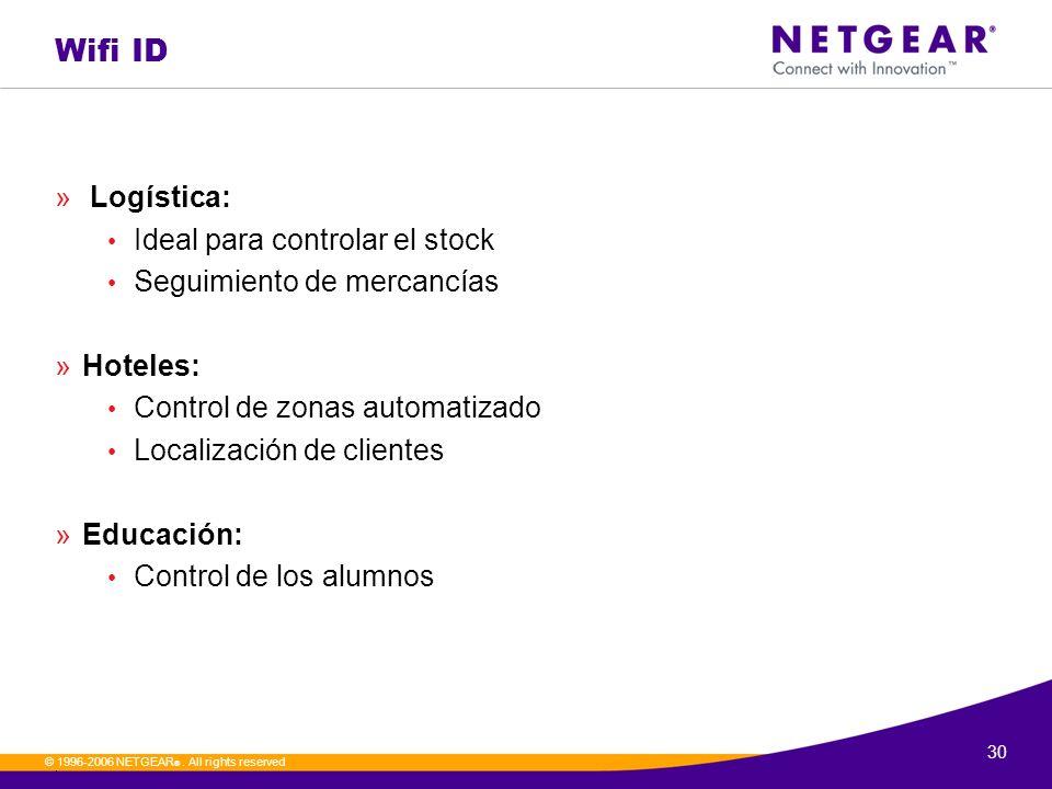 Wifi ID Logística: Ideal para controlar el stock