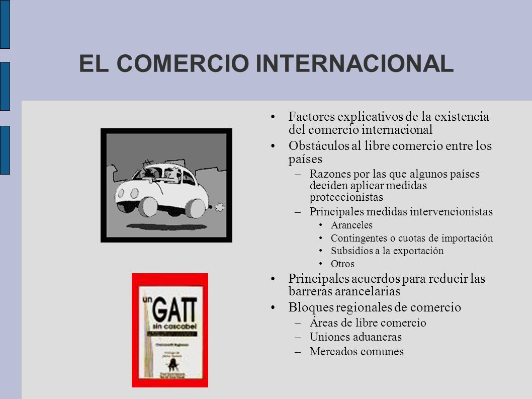 El comercio internacional ppt descargar for Comercio exterior que es