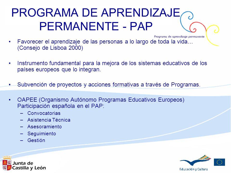 PROGRAMA DE APRENDIZAJE PERMANENTE - PAP