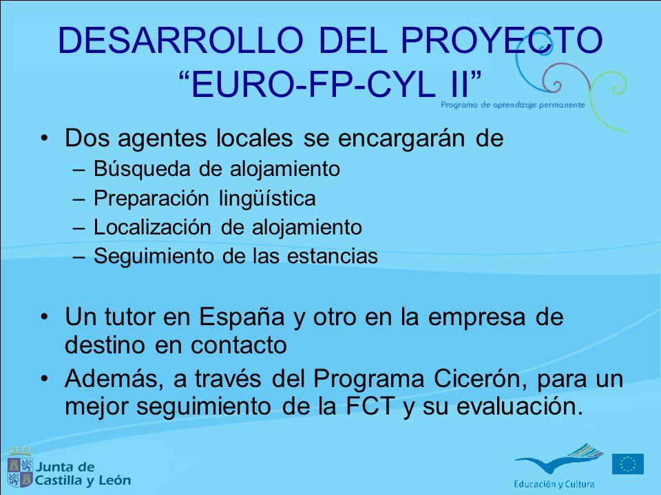 DESARROLLO DEL PROYECTO EURO-FP-CYL II