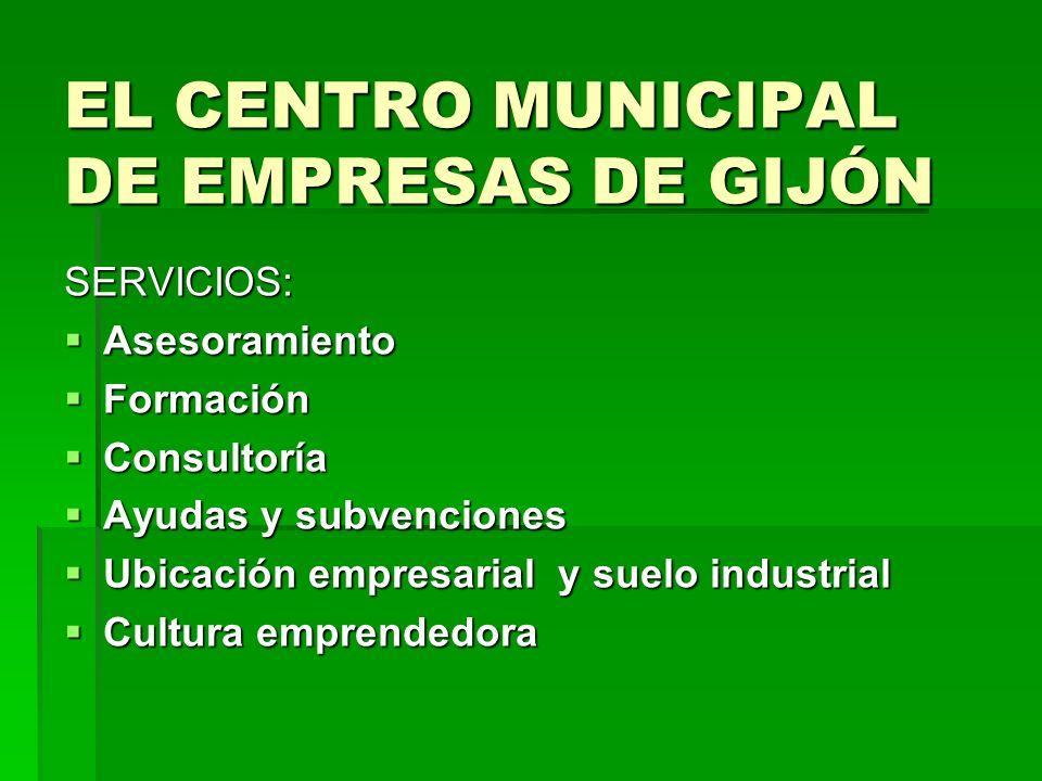 EL CENTRO MUNICIPAL DE EMPRESAS DE GIJÓN