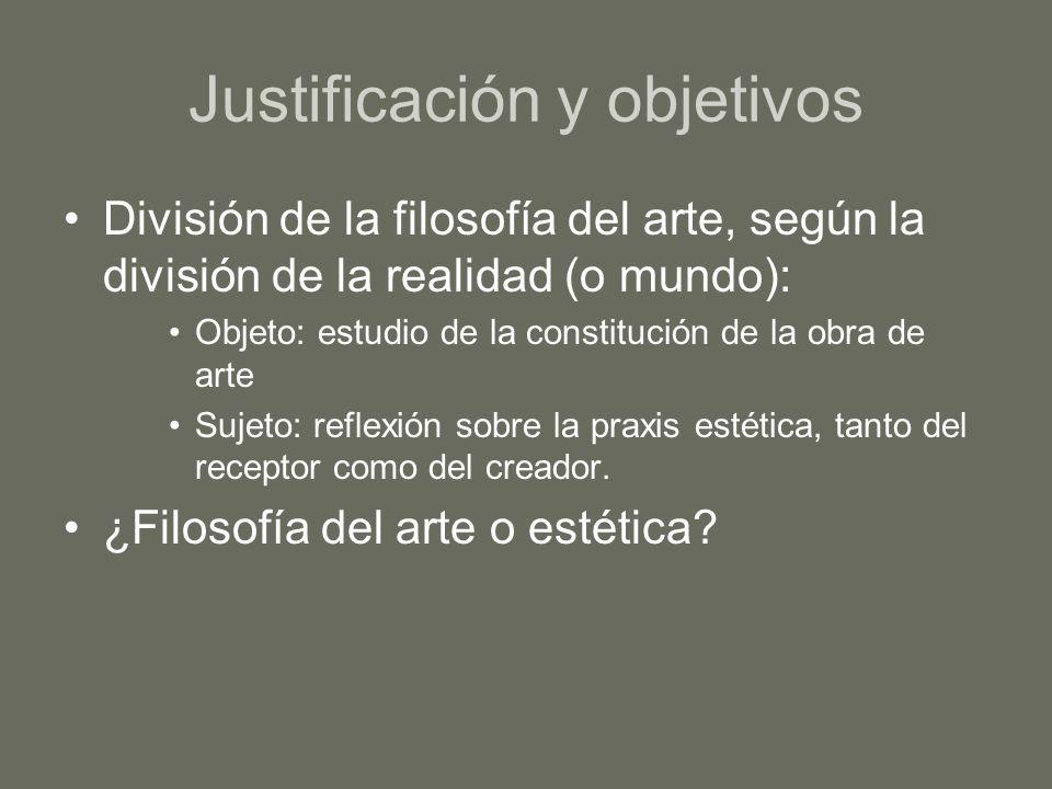 Justificación y objetivos