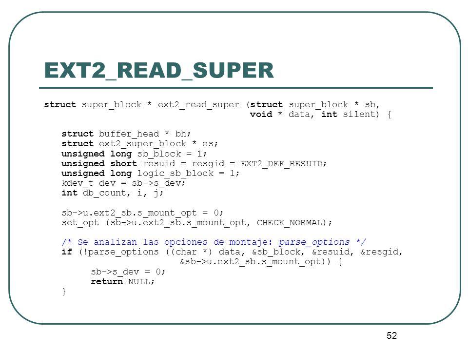 EXT2_READ_SUPERstruct super_block * ext2_read_super (struct super_block * sb, void * data, int silent) {