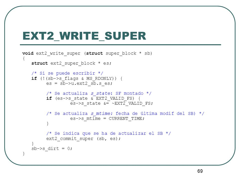EXT2_WRITE_SUPER void ext2_write_super (struct super_block * sb) {
